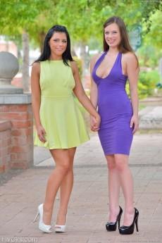 Arianna and Natalie