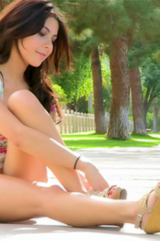 Eliana - Eliana flowery outdoors